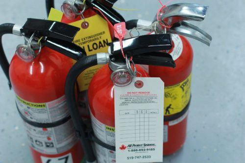 Fire Extinguishers & Fire Hoses