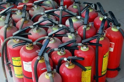 Better Fire Extinguisher Placement